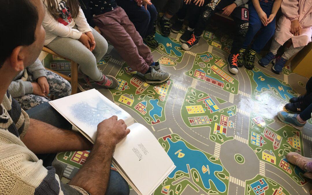 """Laboratori """"Stagioni e Vita"""" con i bambini della scuola materna di Roverbella"""